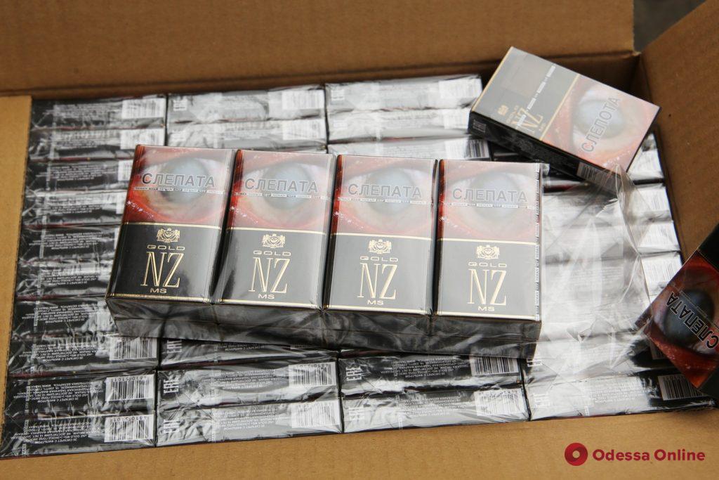 В Одесском порту обнаружили партию контрабандных сигарет на 80 миллионов