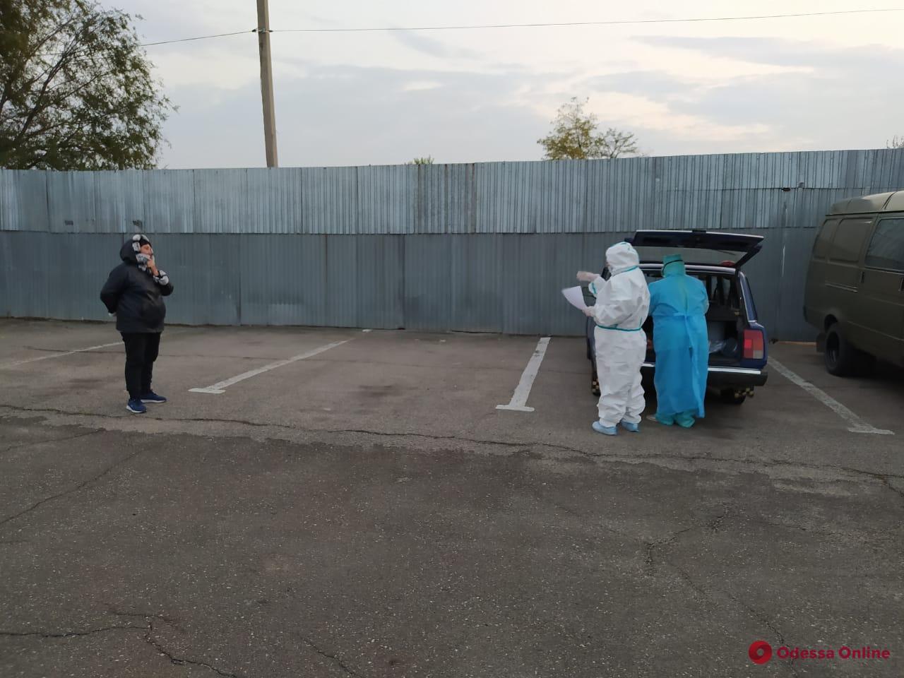Одесская область: в пункте пропуска пришлось провести дезинфекцию из-за двух женщин с COVID-19