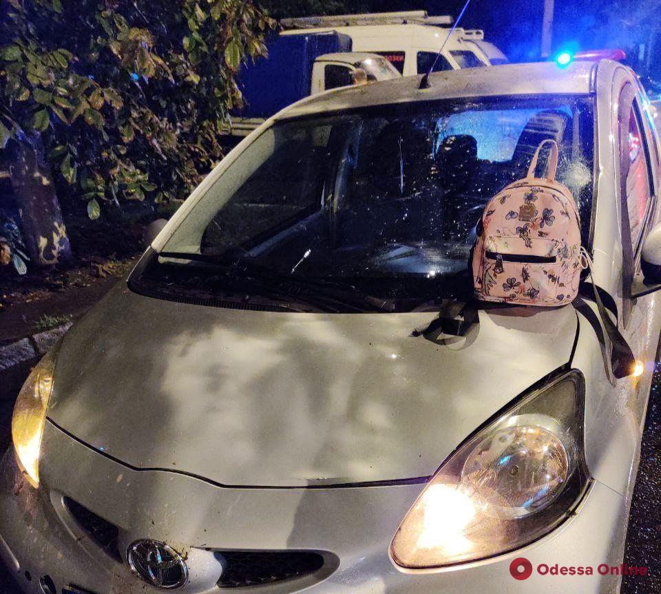 На Молдаванке Toyota сбила девушку