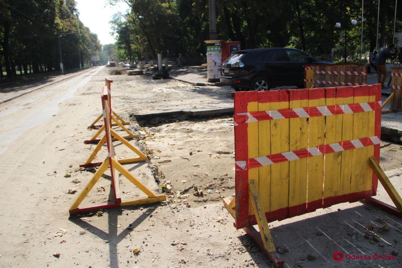 Ремонт теплотрассы на Канатной: улицу планируют открыть в начале следующей недели