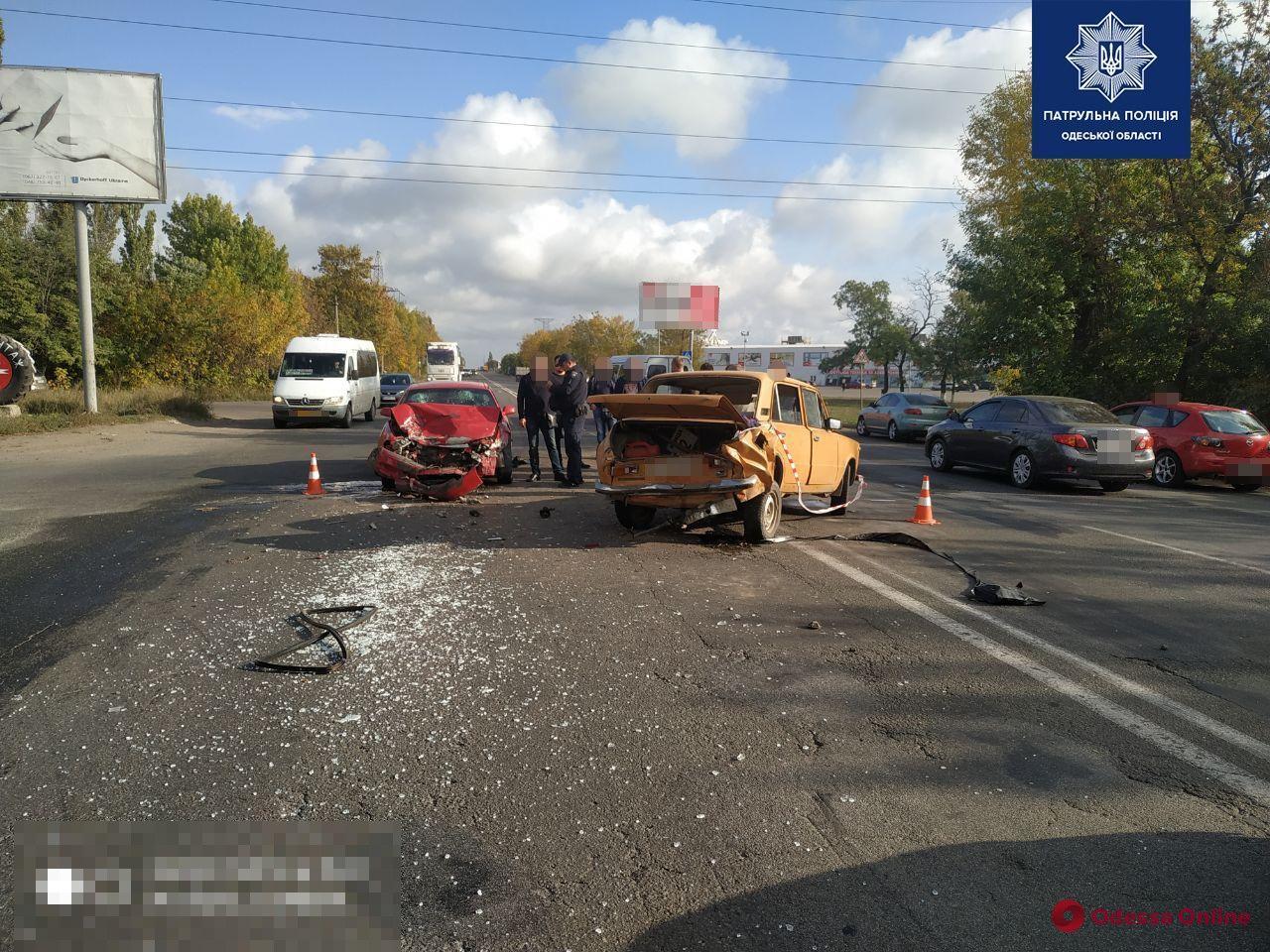 На Старокиевском шоссе в ДТП пострадала женщина