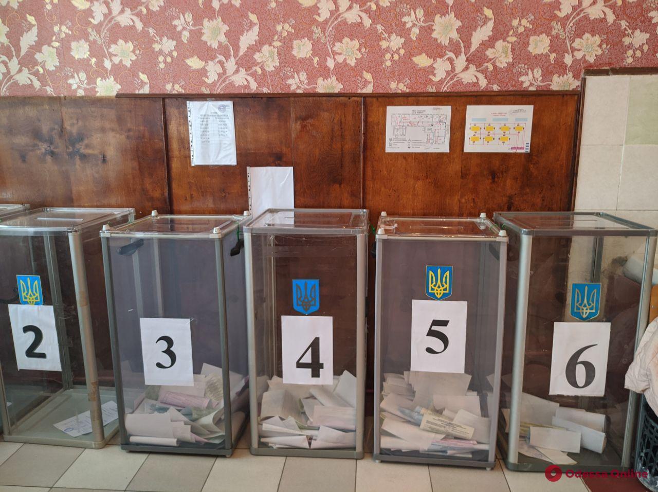 Одесская ТИК обработала 75,8% протоколов по выборам в областной и райсоветы