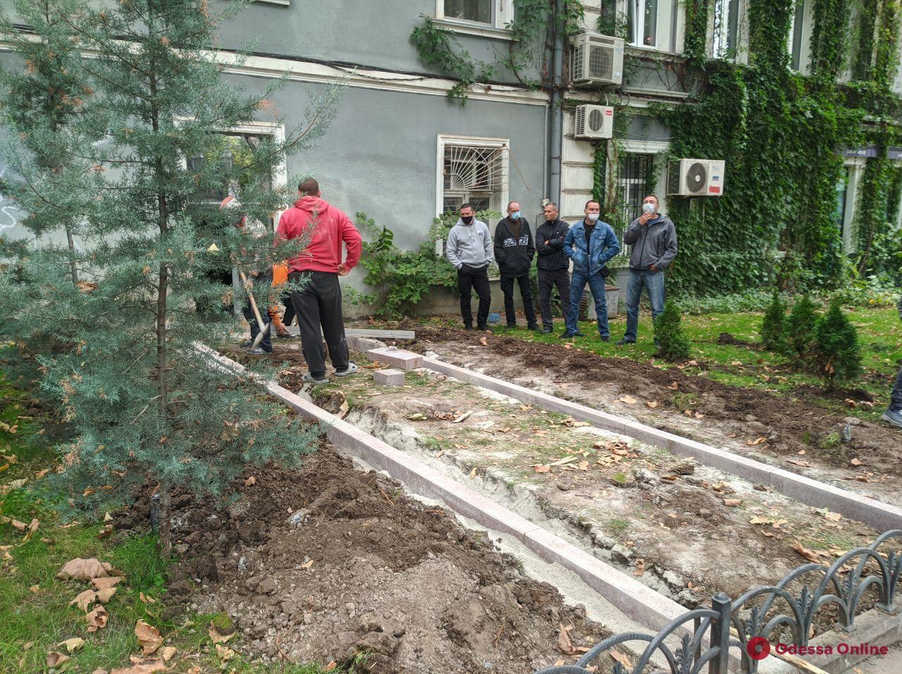 ГАСК прокомментировал строительные работы в Горсаду
