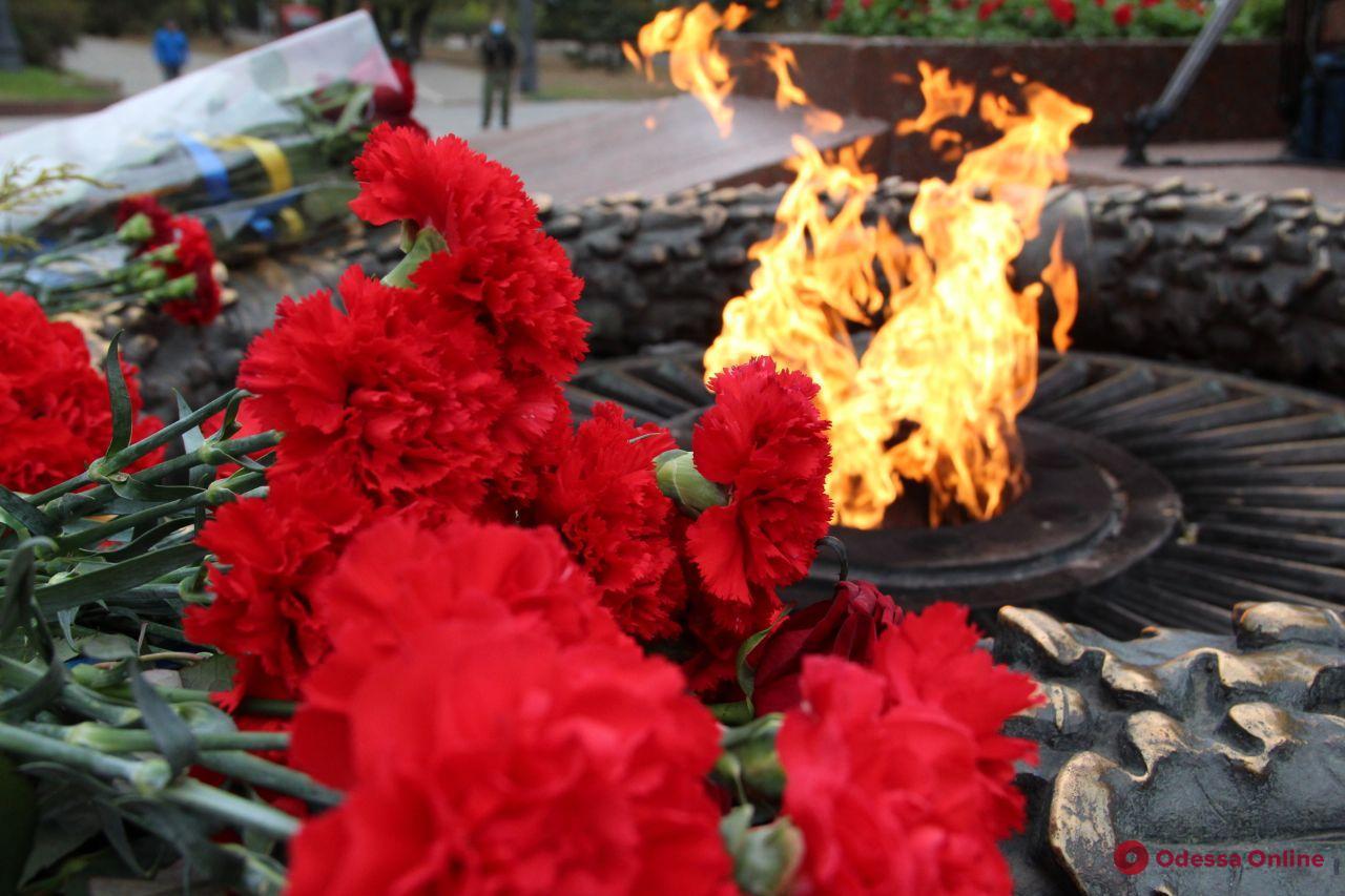 В Одессе празднуют 76-ю годовщину освобождения Украины от фашистских захватчиков (фото)