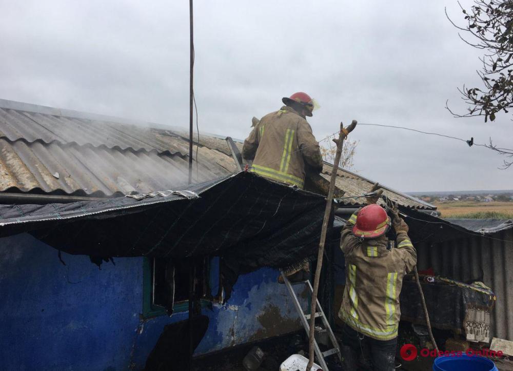 В Одесской области при пожаре погибли двое детей