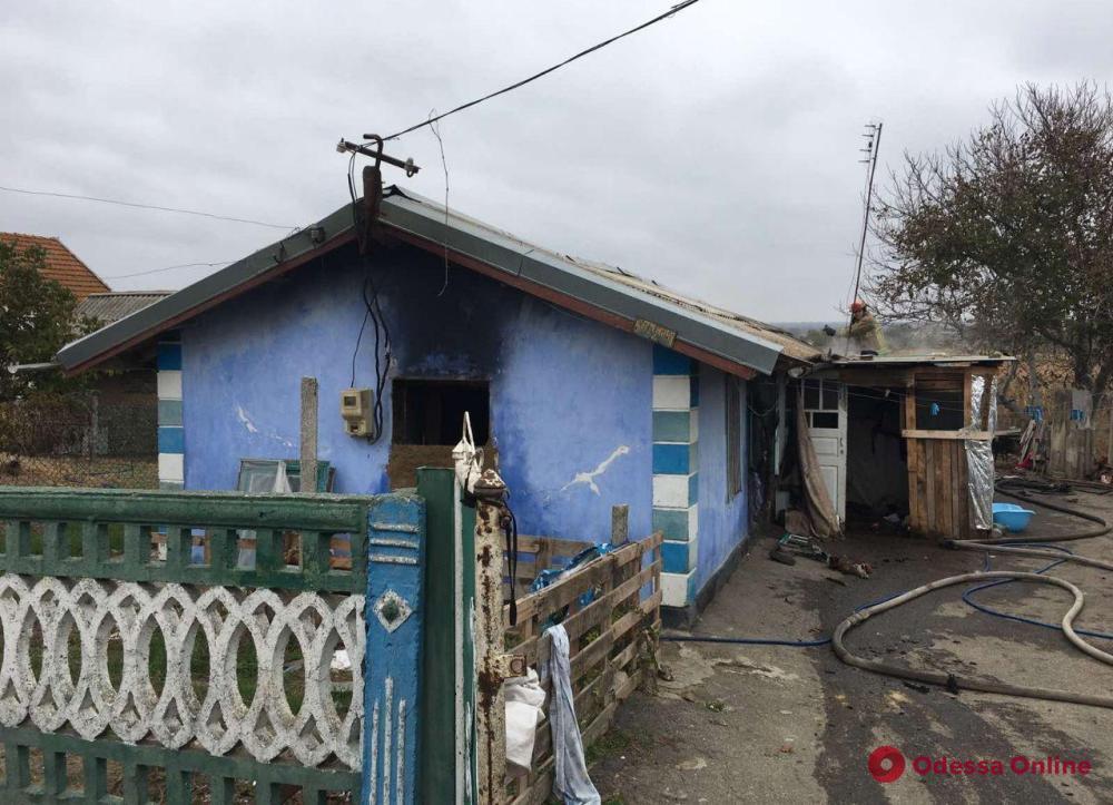 По факту гибели детей при пожаре в Раздельнянском районе открыты два уголовных производства
