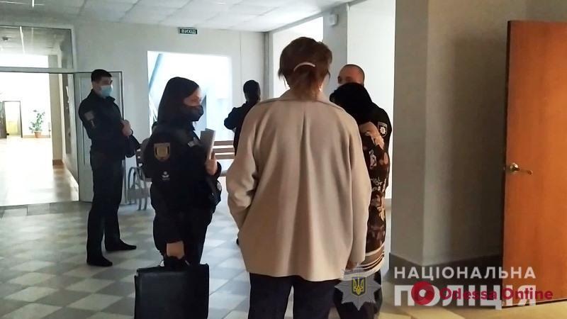 В Одессе исчезла печать участковой избирательной комиссии
