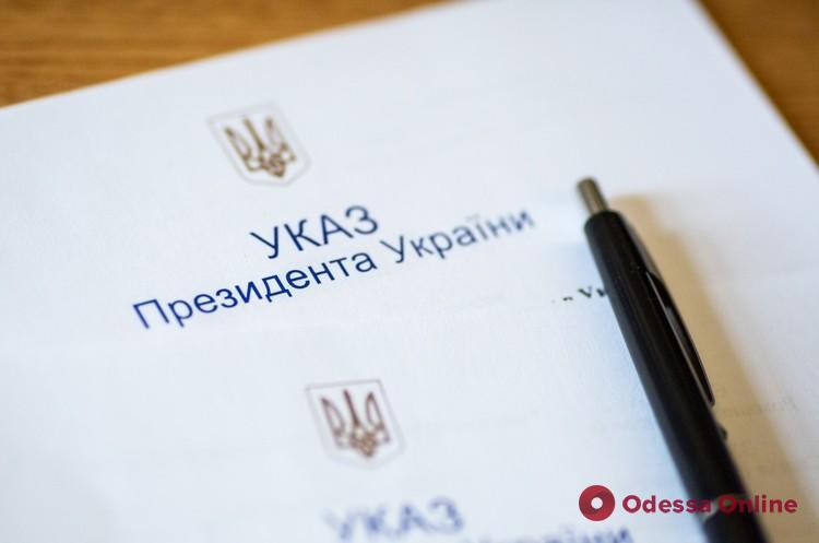 Президент наградил орденом «За заслуги» II степени режиссера Одесской киностудии