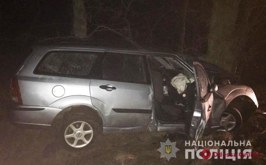 В Саратском районе легковушка врезалась в дерево — погиб мужчина