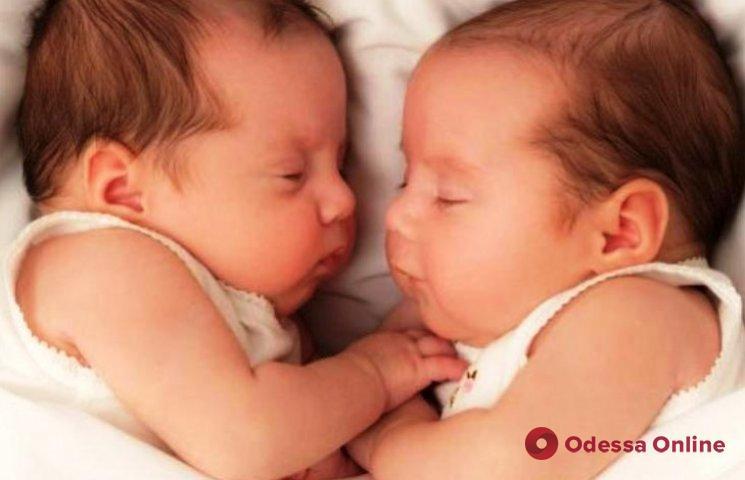 В Одессе на минувшей неделе родились две пары близнецов