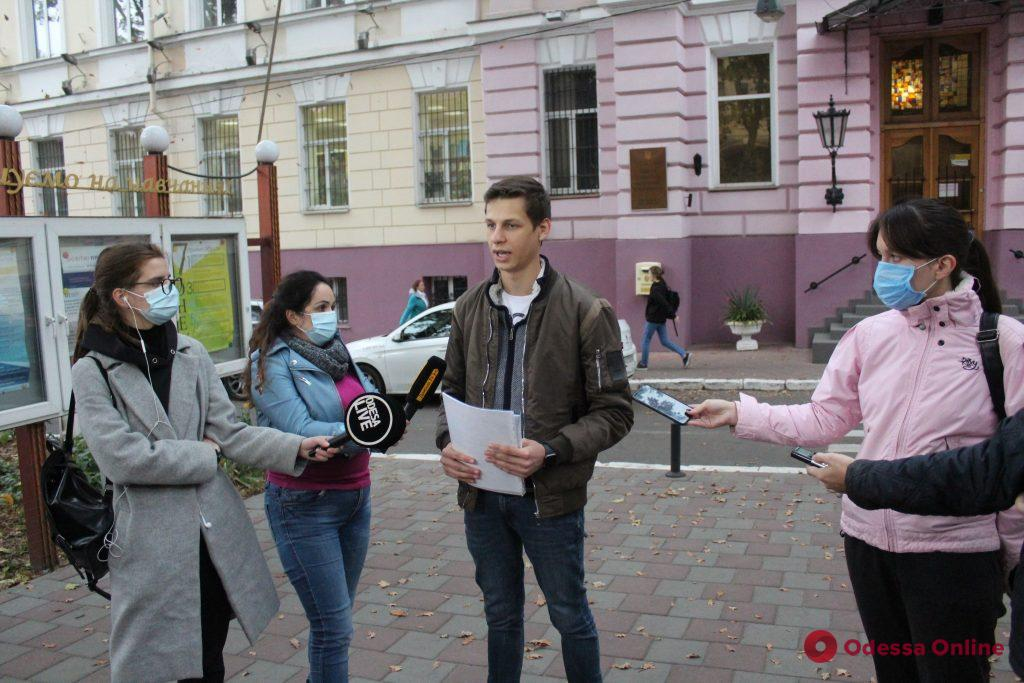 Продолжается конфликт вокруг выборов ректора Одесского экономического университета