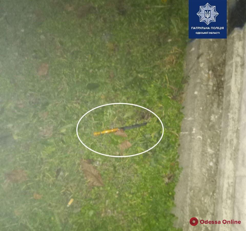Одессит помог патрульным поймать автовора (фото)