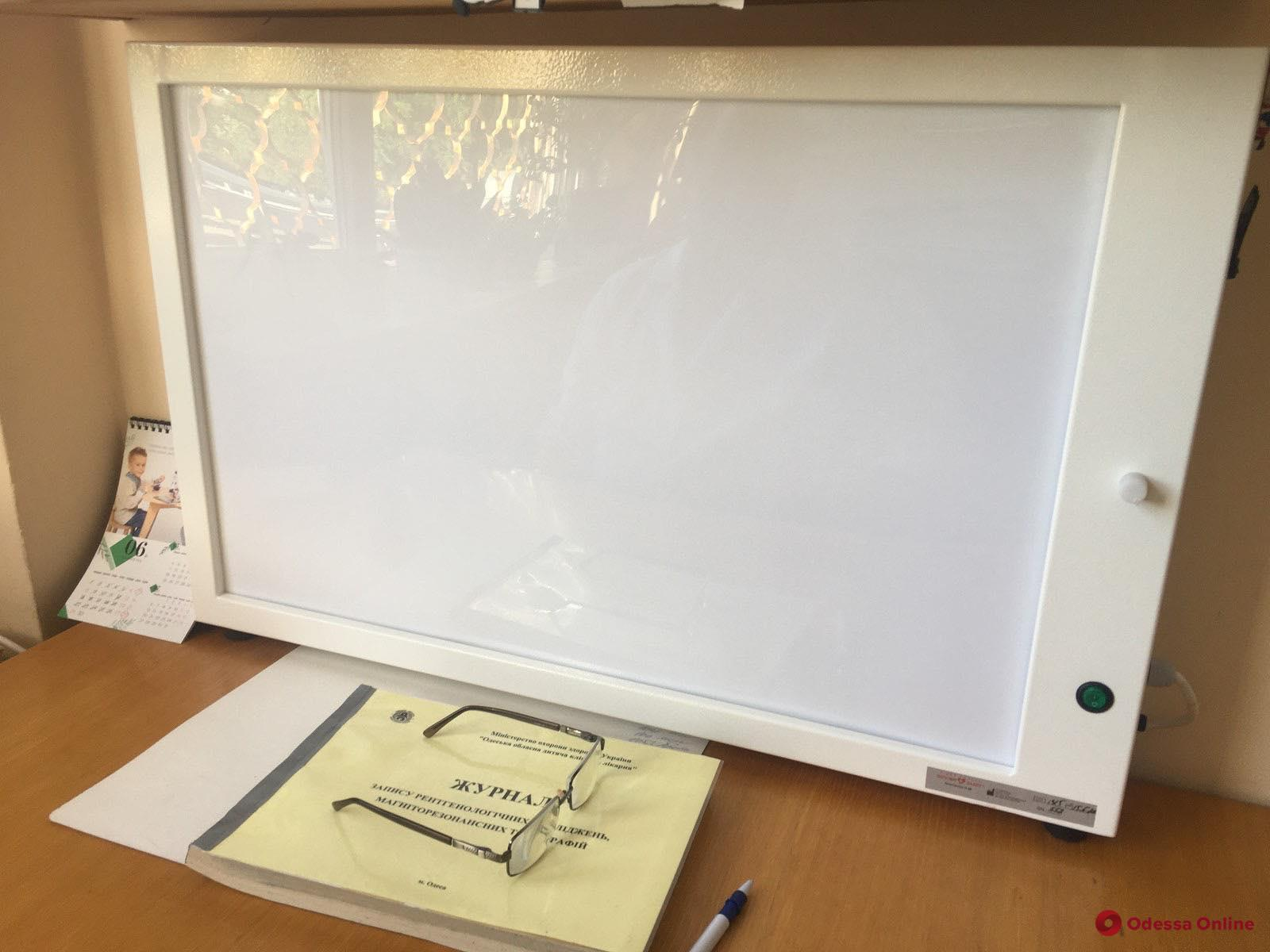 Одесские покупатели «АТБ» собрали деньги на современное оборудование для областной детской больницы