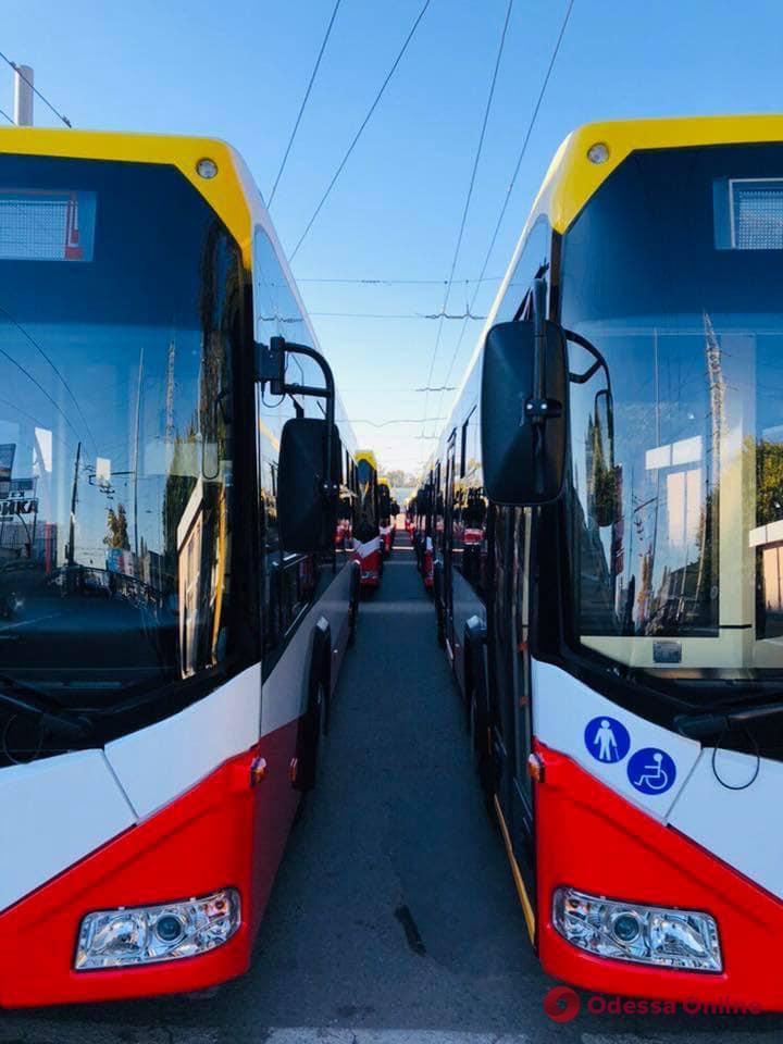 Одесскому троллейбусу исполнилось 75 лет