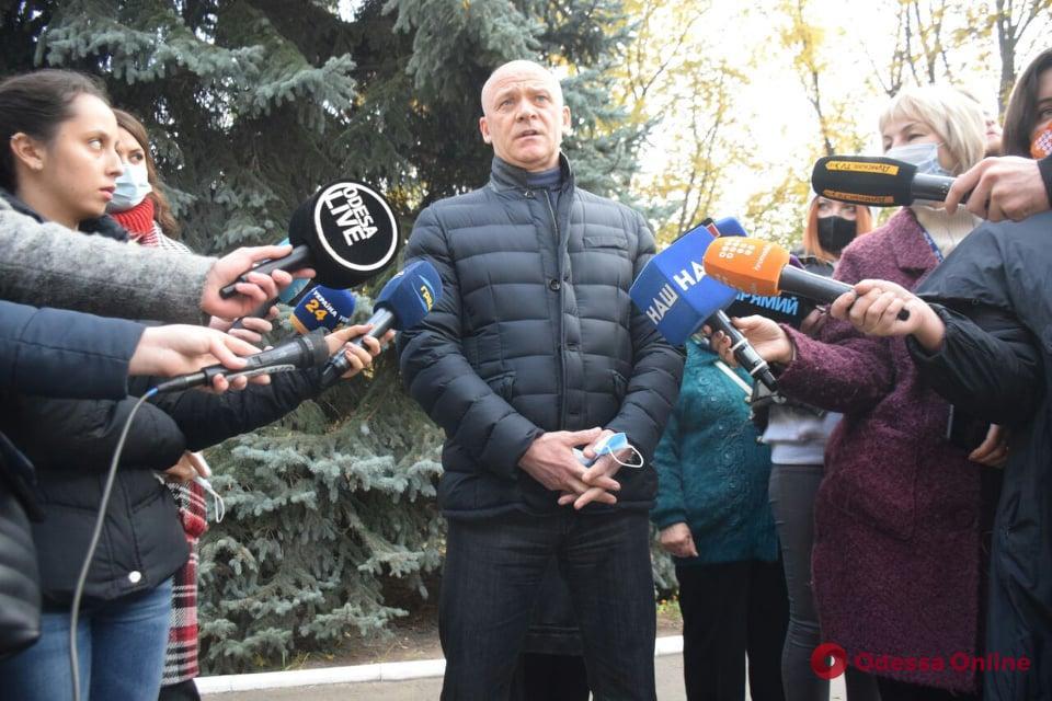 Геннадий Труханов проголосовал на выборах (фото, видео)