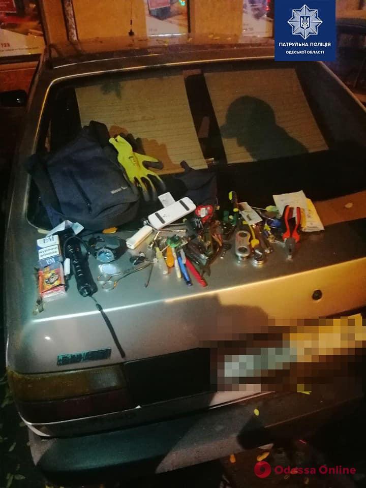 В центре Одессы с поличным поймали автовора (фото)