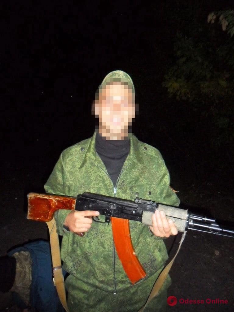 Задержанный в Одессе боевик «ДНР» предстанет перед судом