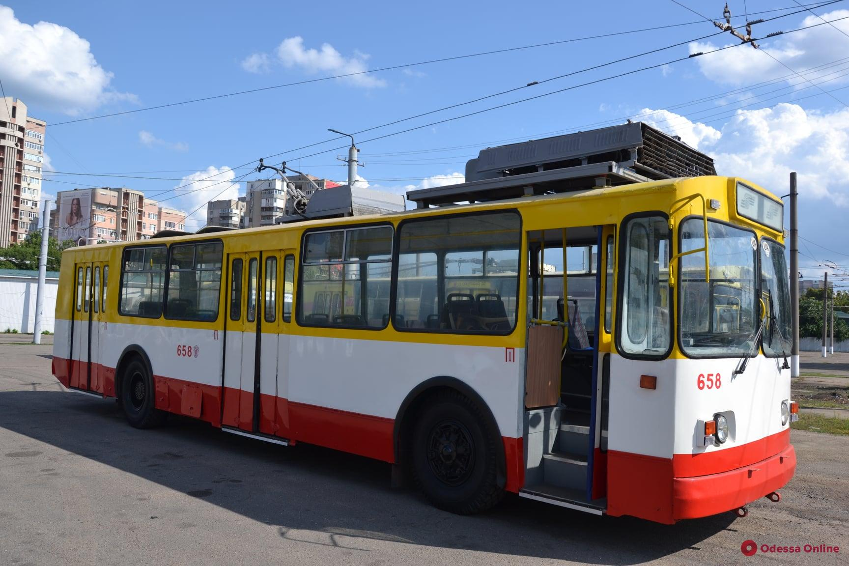 В Одессе востановили движение троллейбуса №2