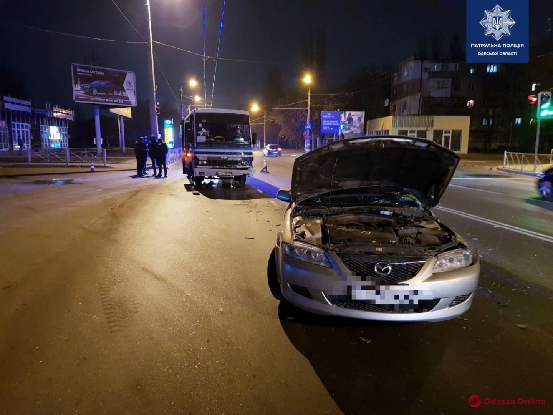 В Одессе произошло ДТП с пострадавшими