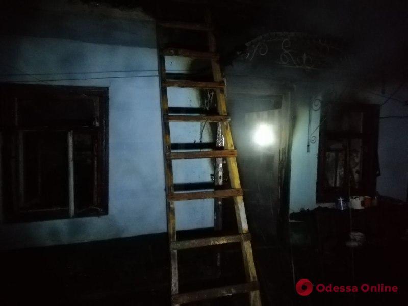 В Одесской области во время пожара в частном доме погибла 78-летняя женщина
