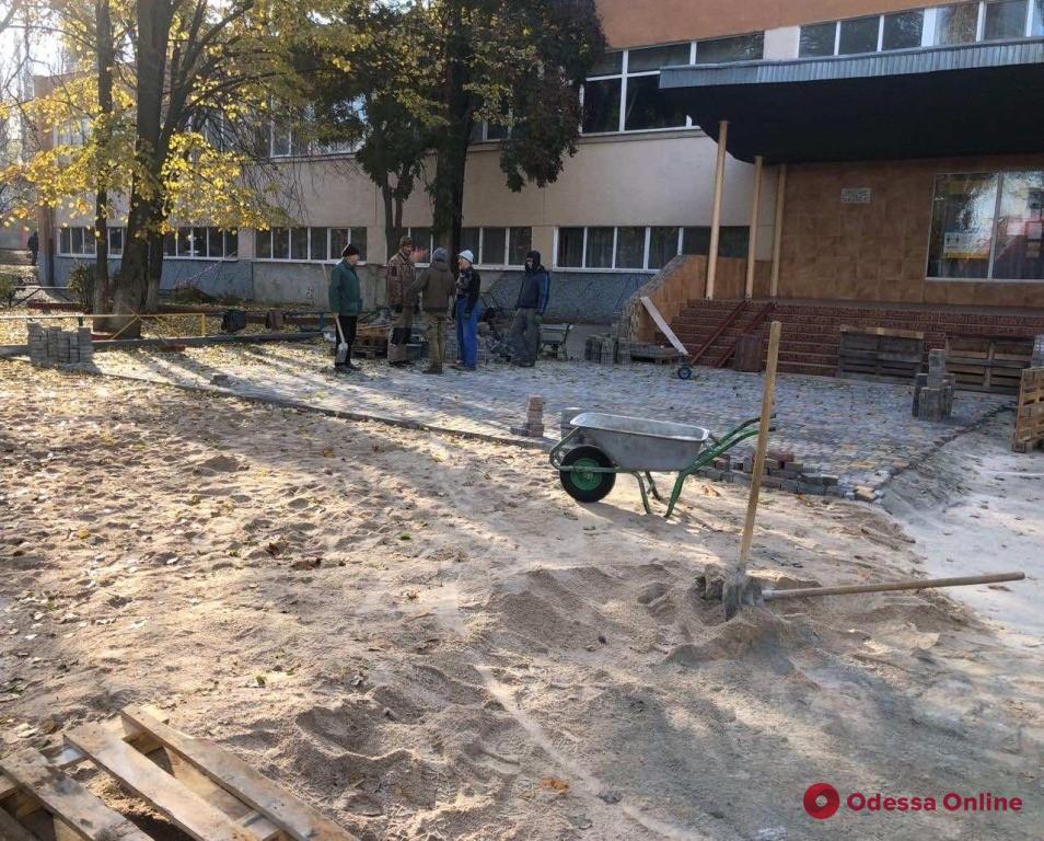 В Одессе стартовал капремонт школы-лицея на поселке Котовского