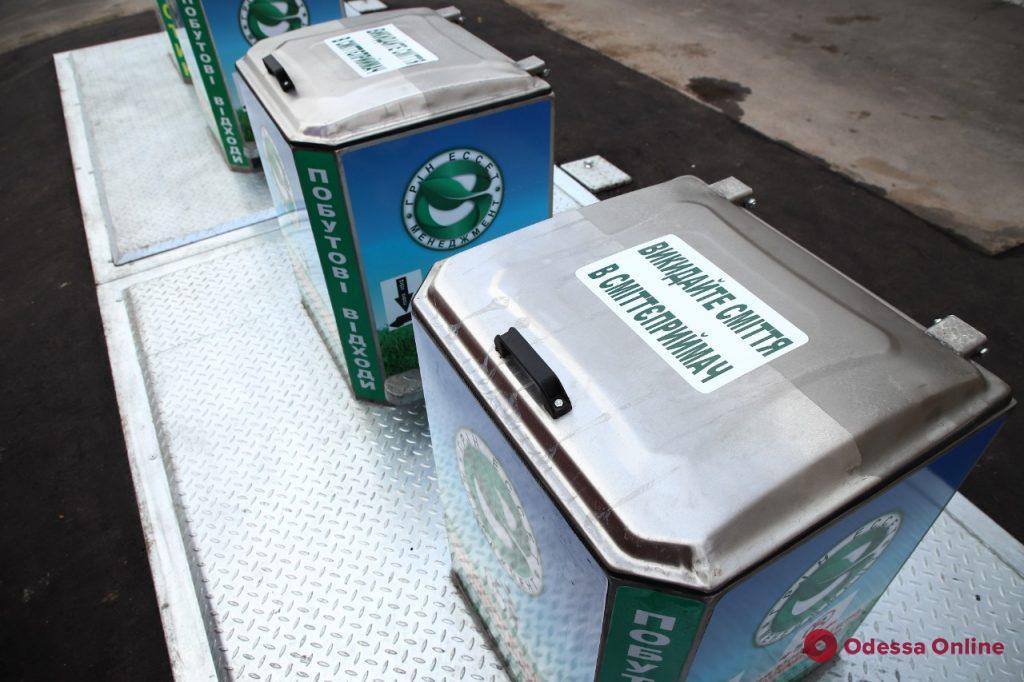 В Одессе продолжается реализация проекта по установке подземных мусорных контейнеров, — Геннадий Труханов