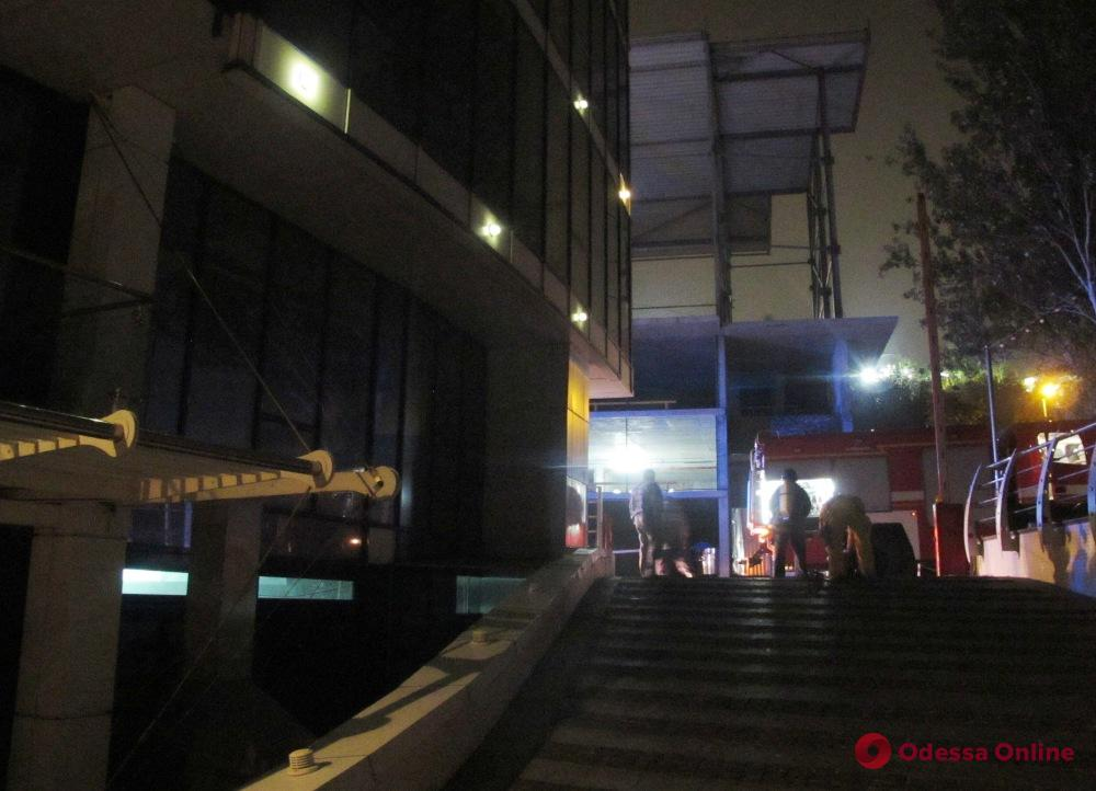 На 10-й станции Фонтана горела летняя площадка отеля