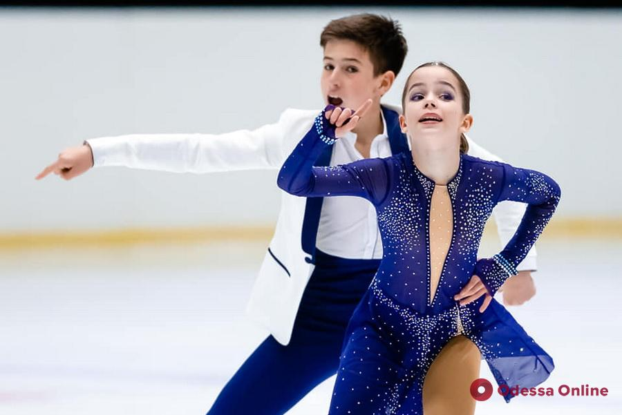 Одесские фигуристы завоевали два десятка медалей всеукраинского турнира