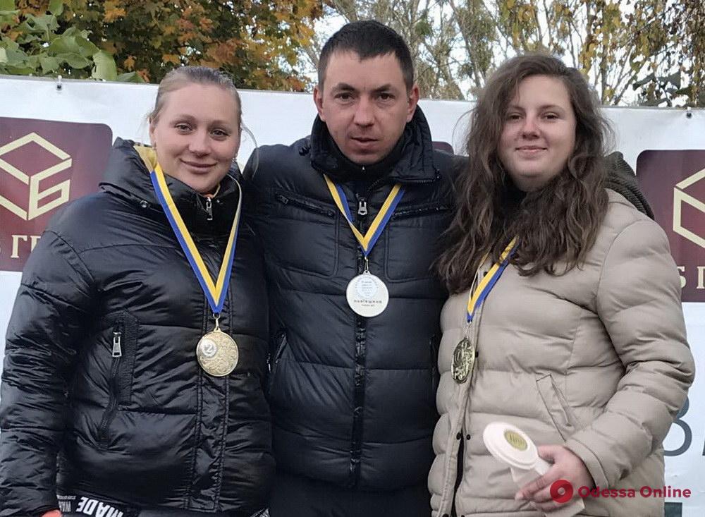Одесситы завоевали медали этапа Кубка Украины по стендовой стрельбе