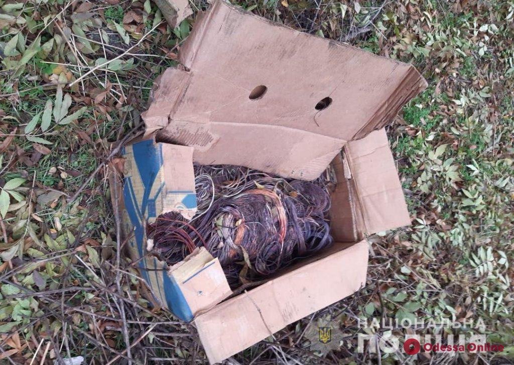 В Одессе поймали кабельных воров