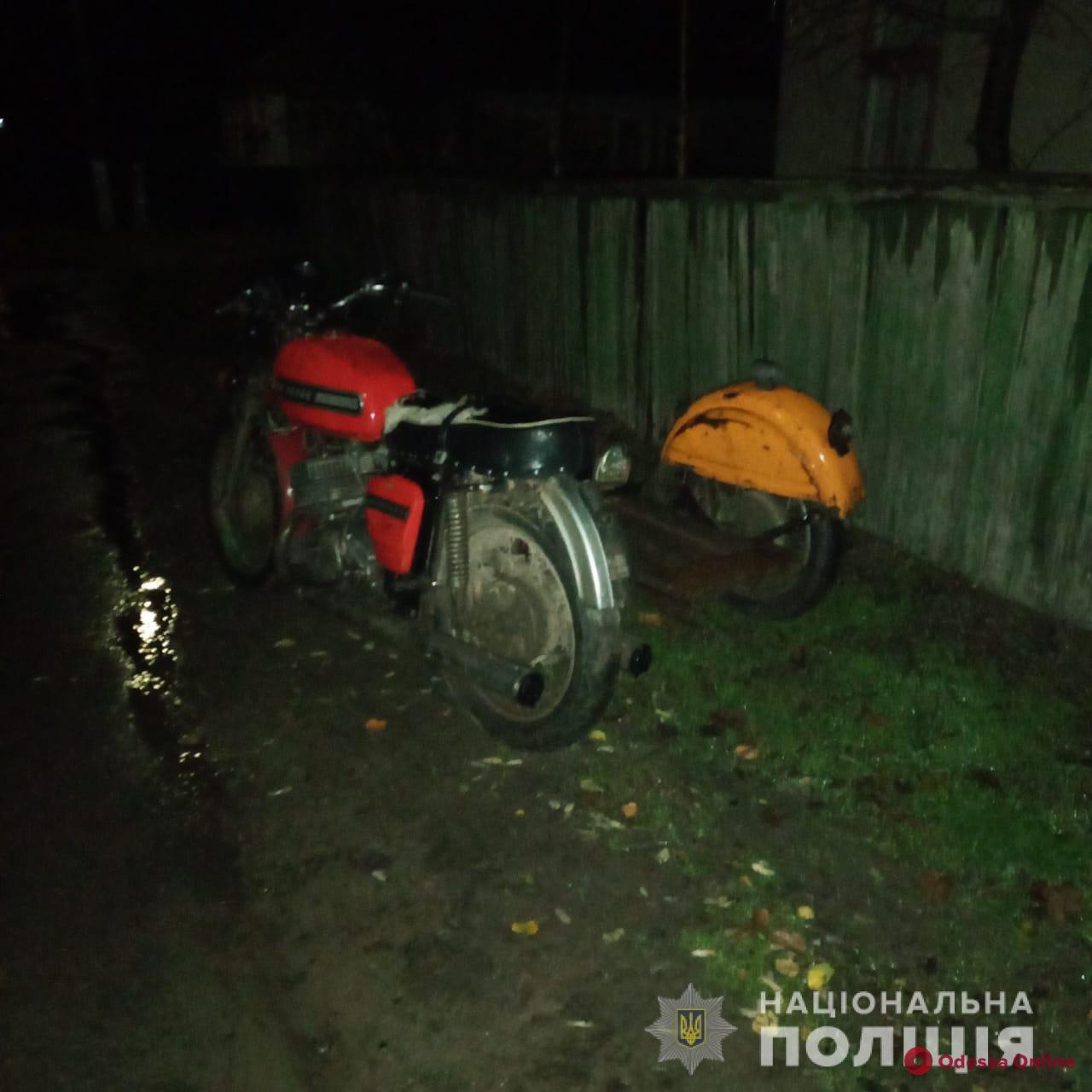 В Одесской области мотоцикл врезался в забор — водитель погиб