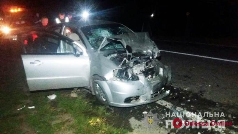 На трассе Одесса—Рени столкнулись Peugeot и Chevrolet – оба водителя погибли