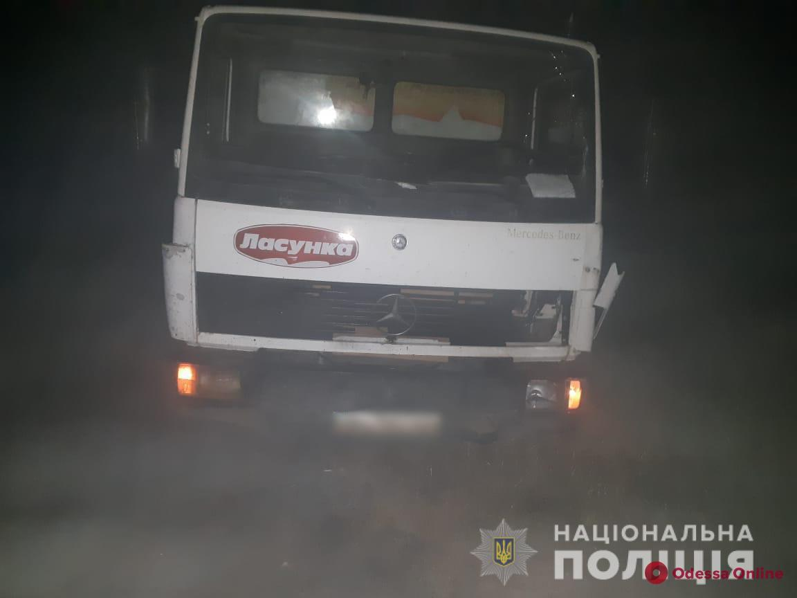 Под Одессой грузовик насмерть сбил пешехода