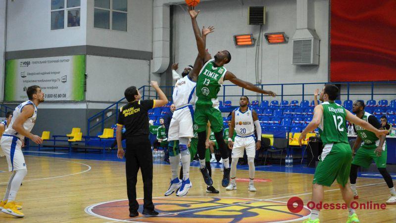 Баскетбол: «Одесса» проиграла «Химику» в первом дерби сезона