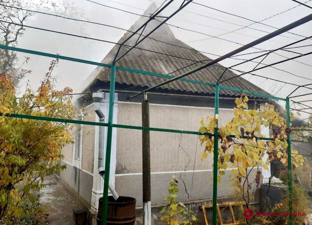 Под Одессой из-за печного отопления загорелся частный дом – погибла женщина