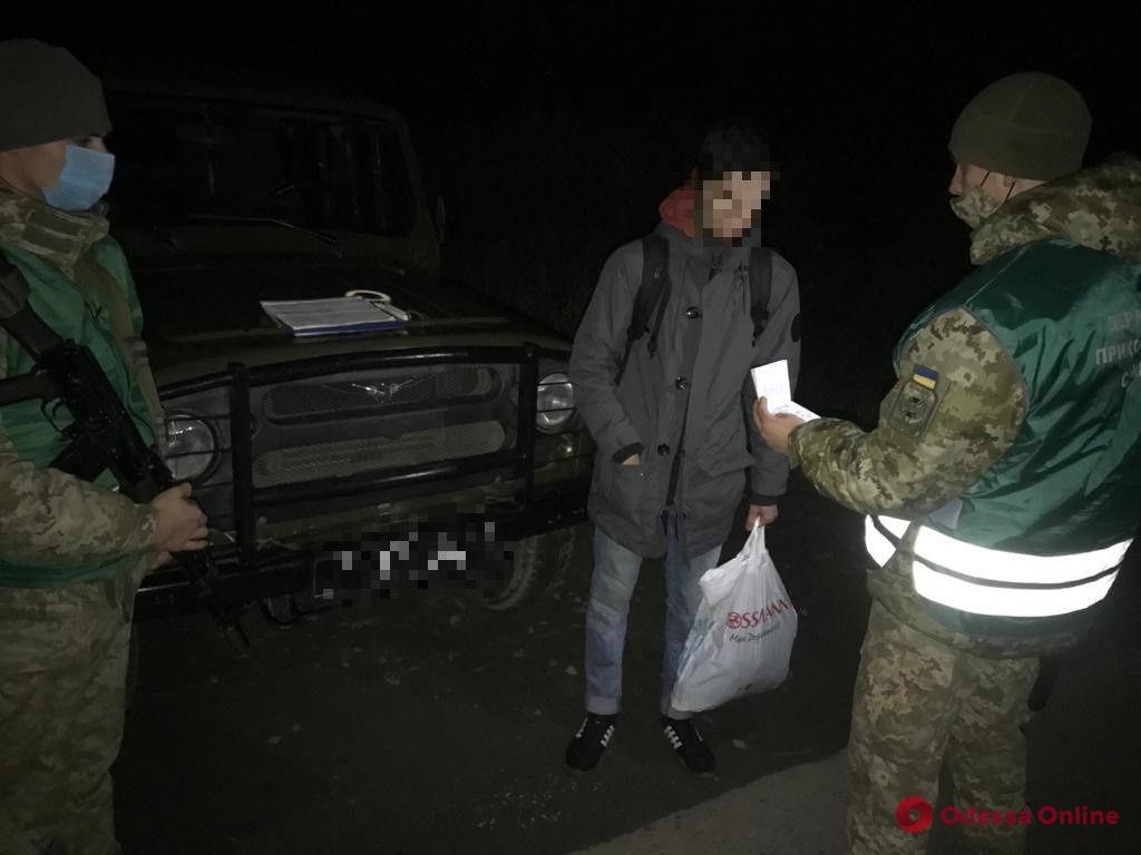 Одессит хотел незаконно пересечь границу с Польшей во Львовской области