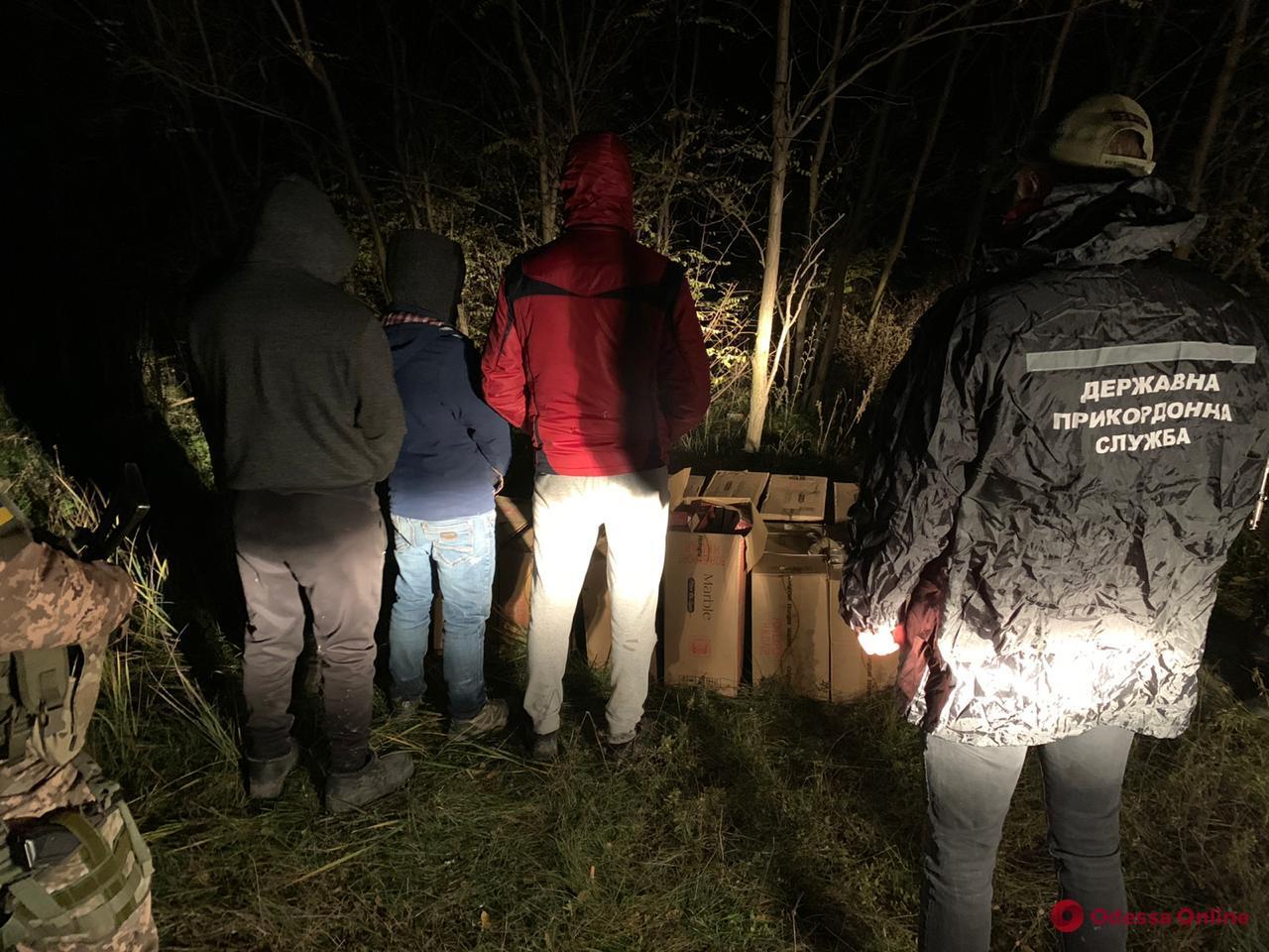 В Одесской области пограничники ловили контрабандистов