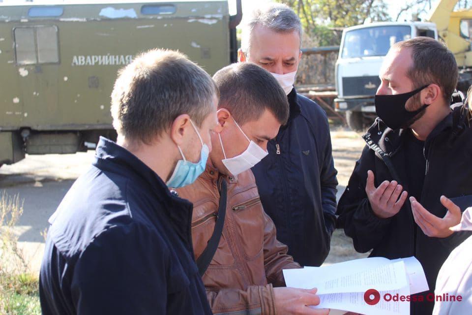 На Балковской разгорелся конфликт между коммунальщиками и охранной фирмой