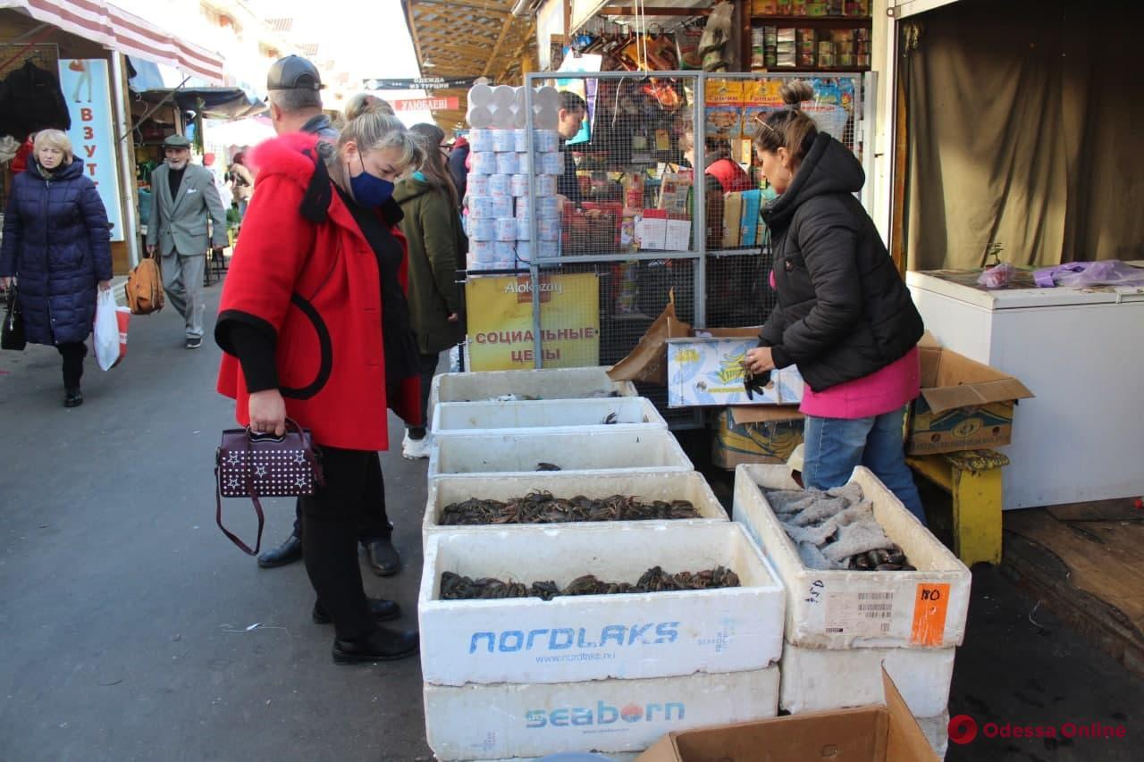 Перец, капуста и рыба: воскресные цены на одесском «Привозе»