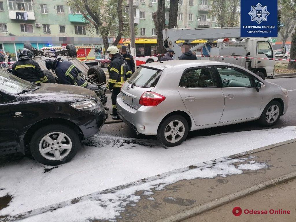 Из-за ДТП на Люстдорфской дороге затруднено движение (обновлено)