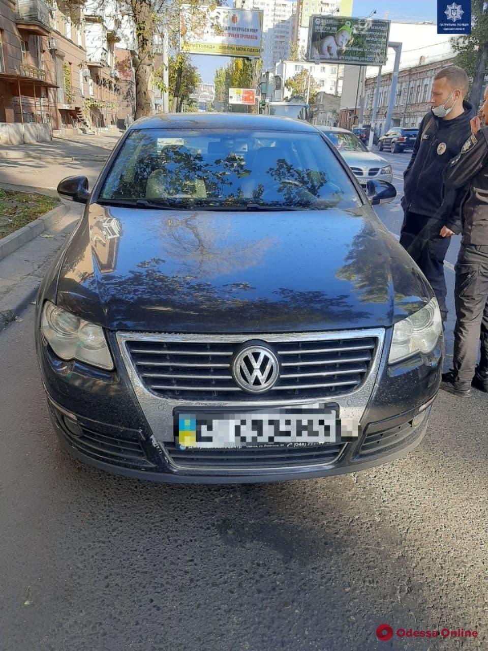 На Среднефонтанской легковушка сбила пешехода (обновлено)