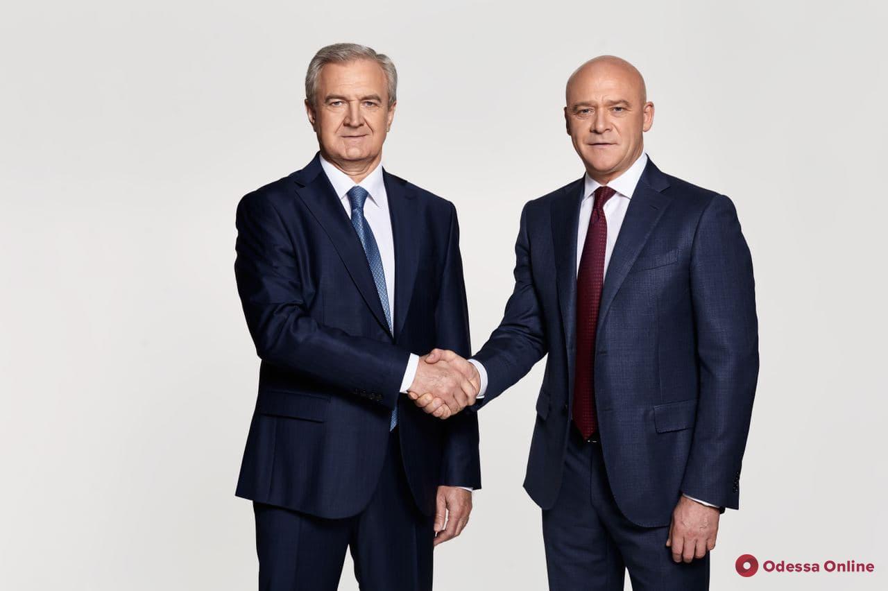 Новый губернатор Одесской области Сергей Гриневецкий поддержал Труханова