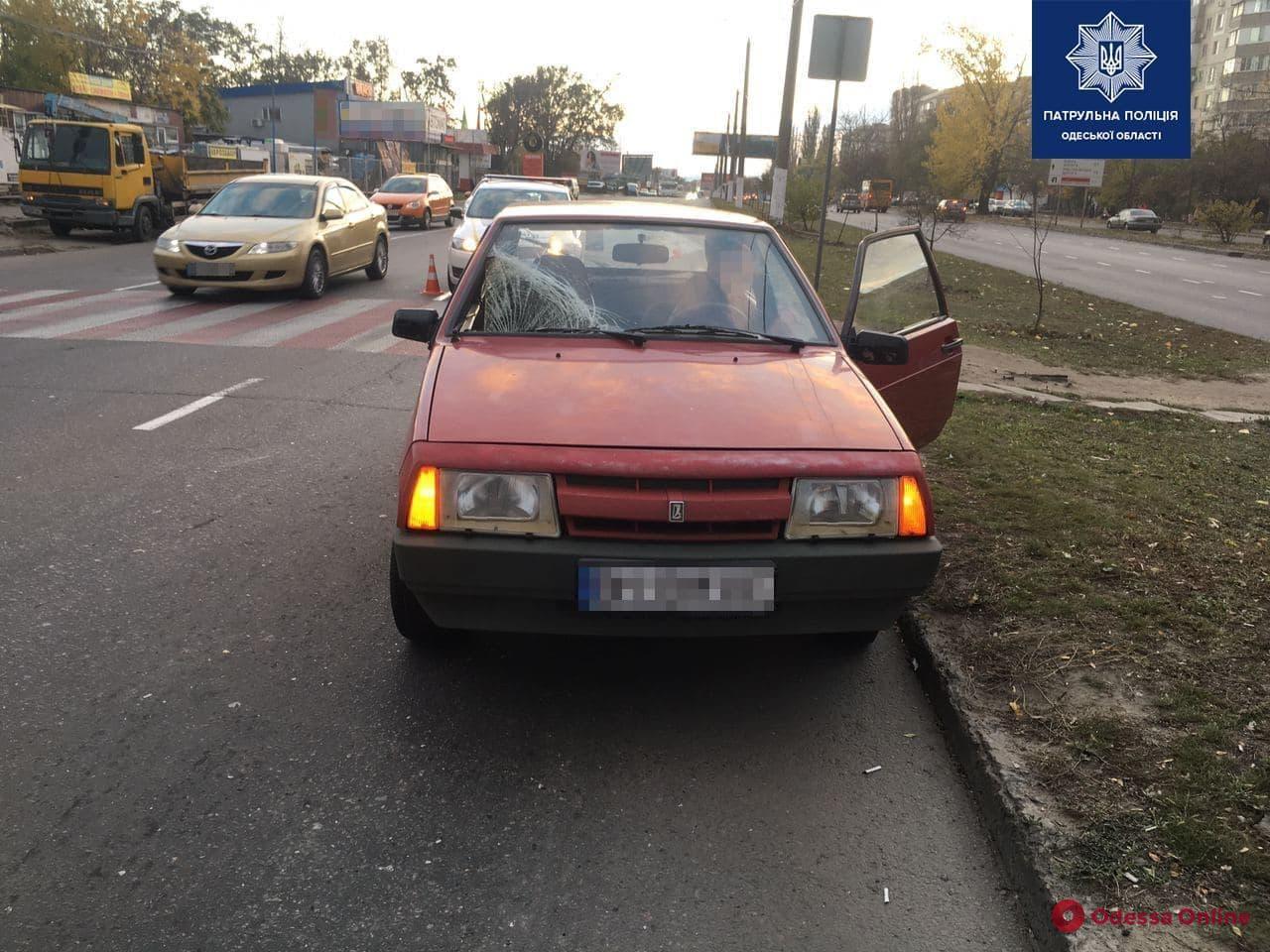 На поселке Котовского ВАЗ сбил мужчину на пешеходном переходе
