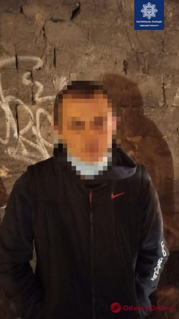 В Одессе патрульные задержали пьяных автоугонщиков