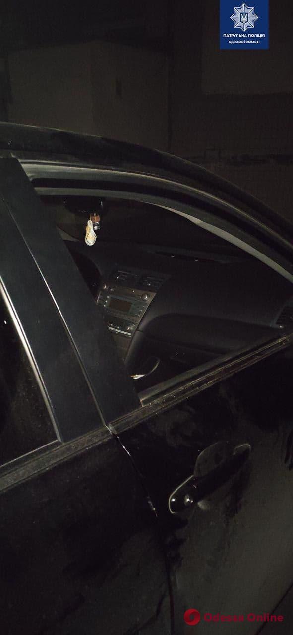 В Одессе поймали автовора с молотком