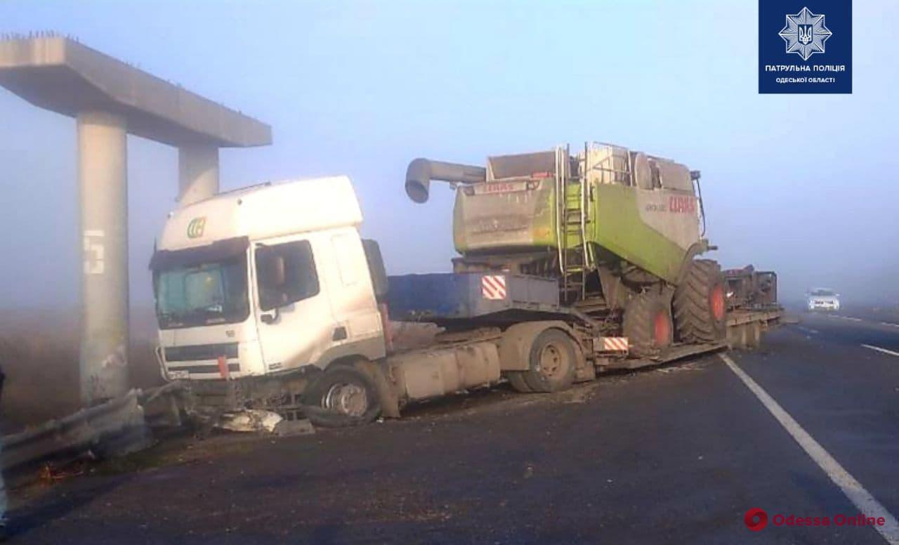 На трассе Одесса – Киев в ДТП пострадал водитель грузовика