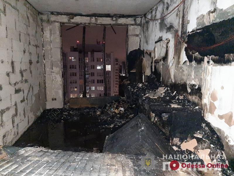 Пожар в ЖК «Альтаир»: одесская полиция открыла уголовное производство