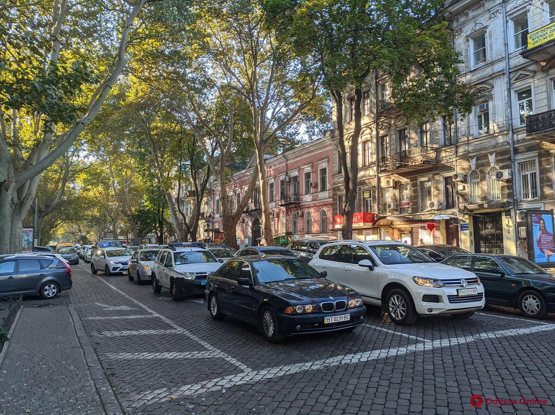 Дорожная обстановка в Одессе: большие пробки на Слободке и Черемушках