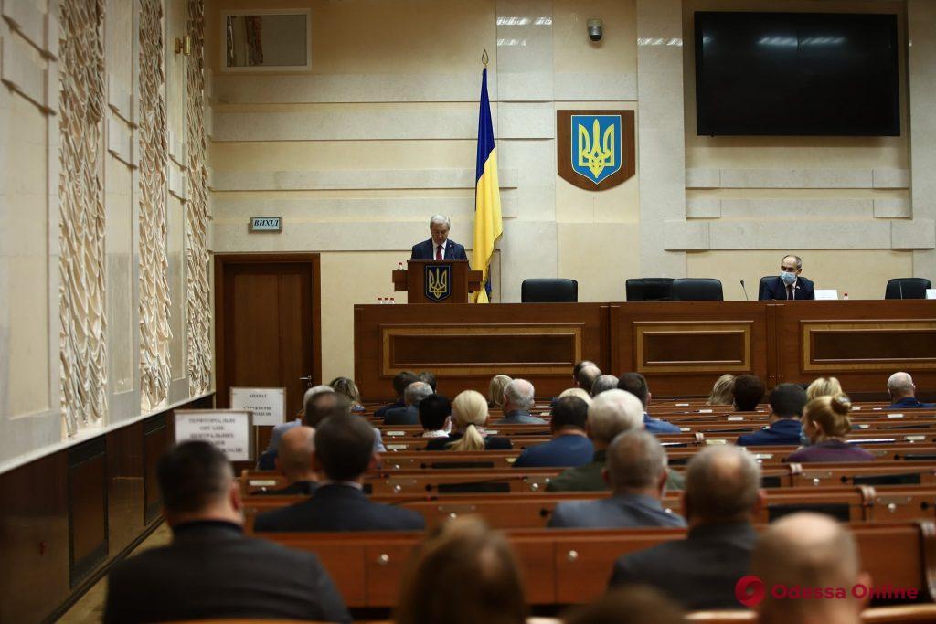 «Я осознаю всю ответственность перед президентом и жителями региона»: в Одессе представили нового губернатора