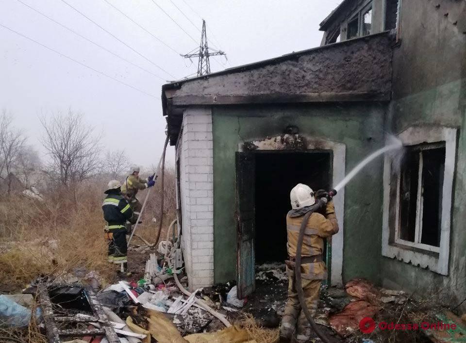 В Одесской области на пепелище сгоревшего дома нашли труп